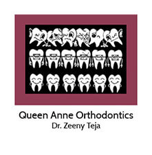 Queen Anne Orthodontics logo
